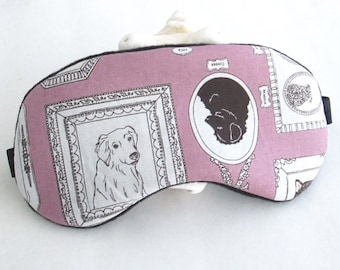 Special Sale: Sleep Mask, Eye Sleep Mask, Travel  Eye Mask in pets print.