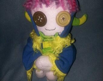 Monster hoodie doll