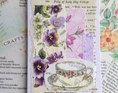 Pretty Floral Handcrafted Card for Mother's Day