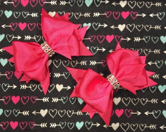 Pigtail bows