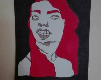 Illustrative wall art