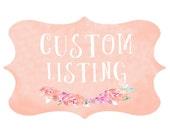 Custom Listing for Allison - PRINTS ONLY - Animal Nursery Art - Set of 5 - Watercolor