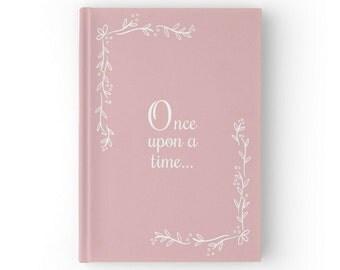 Fairytale Wedding Guest Book, Fairy Tale Wedding Guestbook, Blush Pink Wedding, Blush Wedding, GB 080