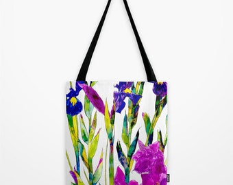 Iris // Canvas Tote // Bag // Shopper