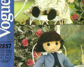 Vogue 2857 Doll Sewing Pattern