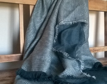 Linen throw blanket, linen throw, country style linen, eco friendly living