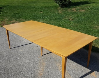 Mid century modern dining table Heywood Wakefield
