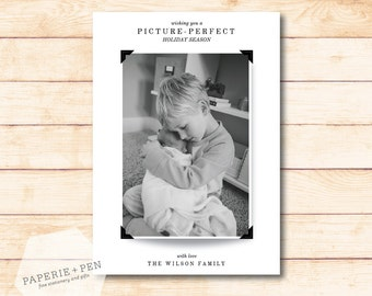 Picture Perfect // Holiday Photo Card