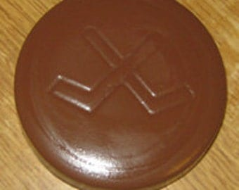Hockey Puck Chocolate Mold