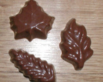 Bite Sized Leaves Chocolate Mold