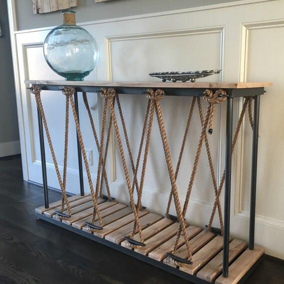Nautical Console Table