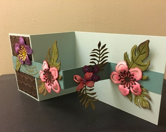 Floating Flowers All Occasions Card