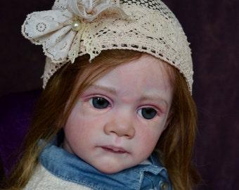 "Life Like Toddler l Reborn Doll  ""Frida"" Karola Wegerich ~ SOLD OUT~ LE"