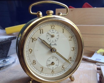 Mouthe Germany wind up alarm clock