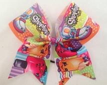 Shopkins ribbon Big Cheer Bow,