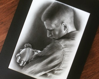 Custom Portrait Drawing for Any Occasion