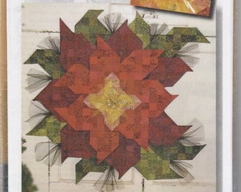 Poinsettia Quilt Patterns Etsy