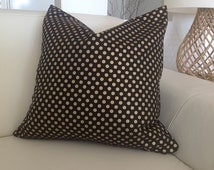 Gold Dots Cushions Black and Gold Pillows Spot On Red and Gold Designer Cushions Black, Mustard, Gold, Grey, Ivory Modern Cushion Covers