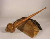 Ungoliant (in Zebrawood) Supported Spindle - Made to Order