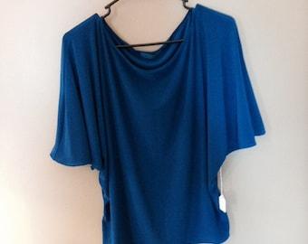 Royal Blue Knit Top