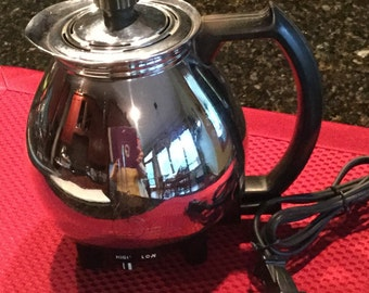 Vintage Sunbeam Electric Coffee Master Pot