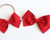 Rich Red - Hand-Folded Bow