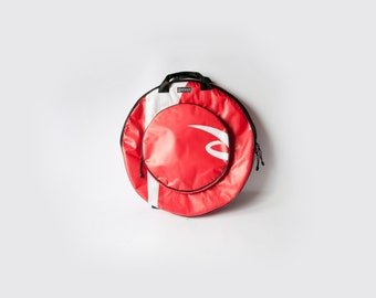 """Handmade, Unique, Eco Cymbal bag 22""""No 4 of 30, Water Resistant, Strong eco friendly, drum bag, cymbal case, handmade"""