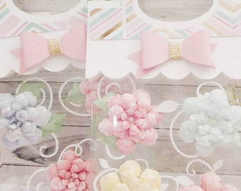 Handmade Paper Flowers | Shabby Chic