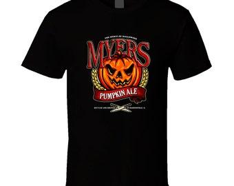 Halloween - Myers Pumpkin Ale T Shirt