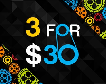 Buy Any Three 11x17 Posters from DreamMachinePrints for Only 30.00!