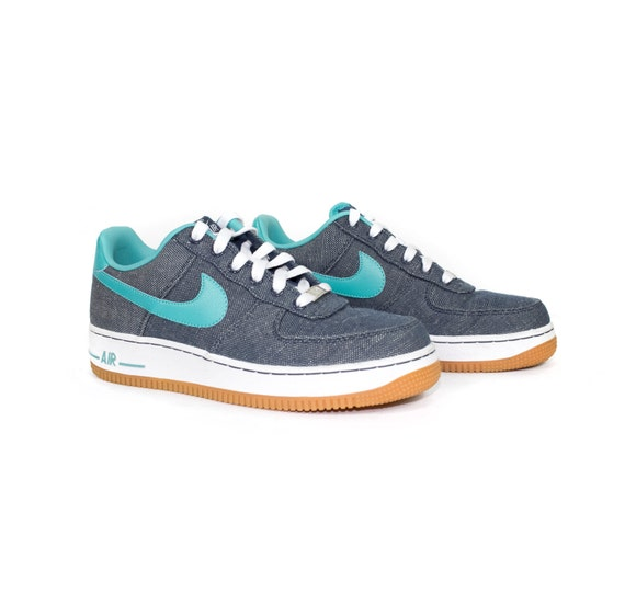 huge selection of 8944f dea33 60%OFF Nike Air Force 1 07 Canvas 579927-400 Squadron Blue by StGARBAGE