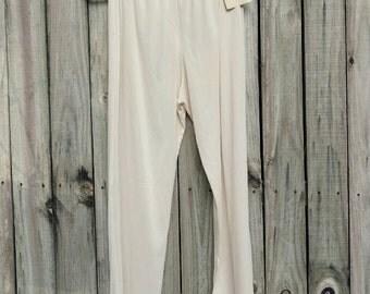 Merville Adjustable Hem Slip Pants (Medium). Adjustable Hem. Vintage Slip. Vintage Pants.