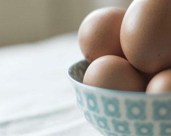 Food photography eggs; rustic kitchen art; wall art; fine art; instant download