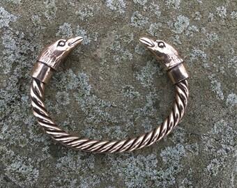 Raven Torc Bracelet