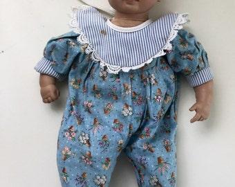 Heidi Ott sleeping Doll Made in Switzerland