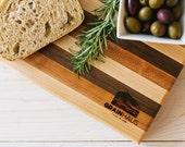 Medium Butcher Block Cutting & Serving Board