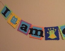 Little monsters i am one name banner