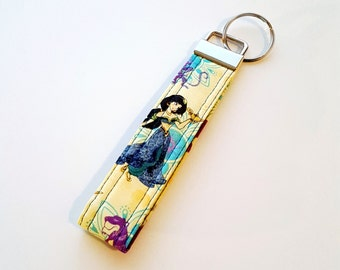 Princess Jasmine Key Fob /Yellow