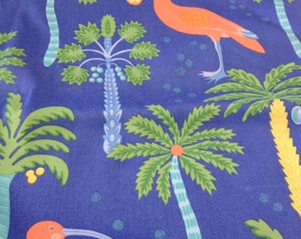 flamingos robert allen 5 uds  out door fabric