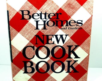 Vintage Better Homes and Gardens 1969 Cook Book