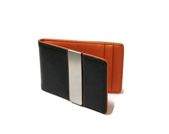 Wallet, Money Clip Wallet, Minimalist Wallet, Money Clip, Slim Wallet, Mens Wallet, Mens Leather Wallet, Leather Wallet, Groomsmen Gift Idea