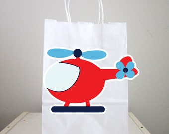 Helicopter Goody Bags, Helicopter Favor Bags, Helicopter Goody Bags, Helicopter Favor Bags