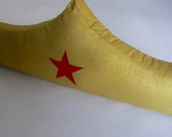 Superhero Pillow--Wonder Woman Pillow--Wonder Woman nursery pillow-MTO