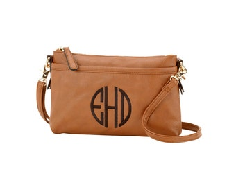Bree Crossbody with Monogram (3 Colors)