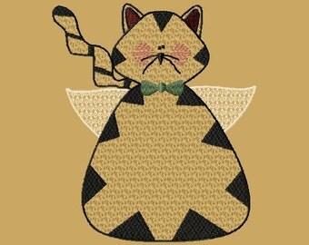 WE014 - Prim Cat Angel 5x7