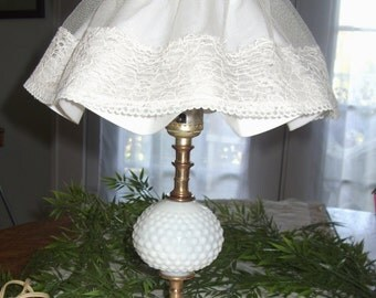Shabby Chic Lamp, Girlu0027s Bedroom Table Lamp, Mid Century Lamp, Nightstand  Lighting