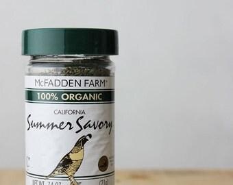 Organic Summer Savory Herbs