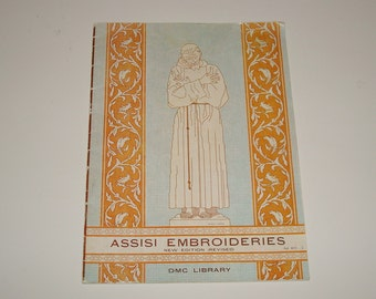 Book: Assisi Embroideries (DMC Library) Paperback –  by Therese de Dillmont