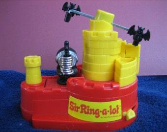 SIR RING-a-lot Milton Bradley Game