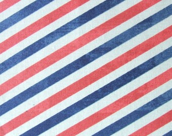 Correspondence Postal Stripes by Tim Holtz for Westminster Fabrics - 1/2 yard